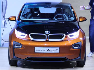 BMW i3 Concept Coupe Preview: Los Angeles Auto Show